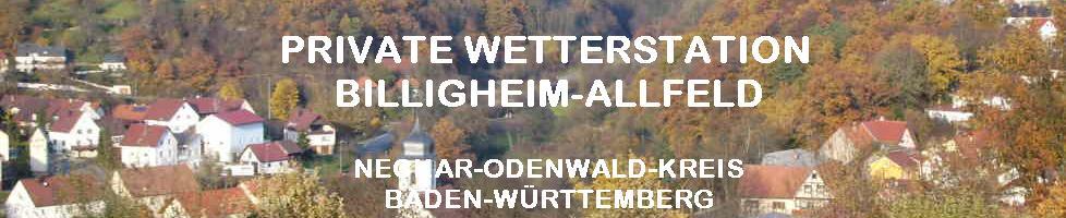 Wetter Billigheim